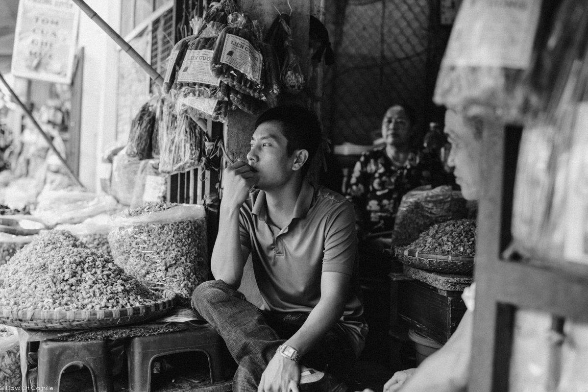 le vieux quartier de hano et le march de thanh h vietnam 2 days of camille. Black Bedroom Furniture Sets. Home Design Ideas