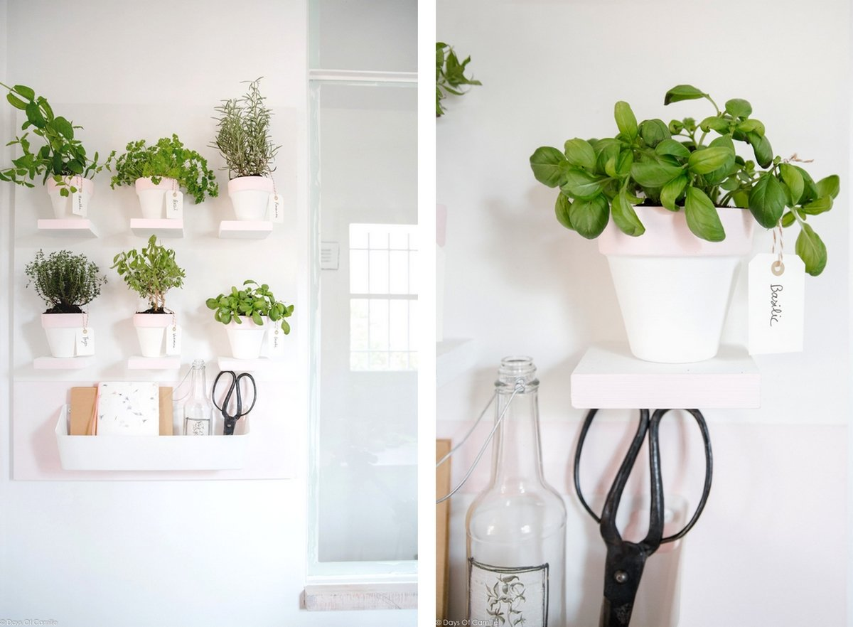 make it tableau pour plantes aromatiques days of camille x leroy merlin days of camille. Black Bedroom Furniture Sets. Home Design Ideas